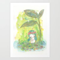 Remember To Breathe Art Print