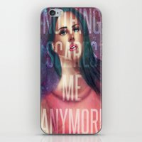 Nothing Scares Me Anymore iPhone & iPod Skin