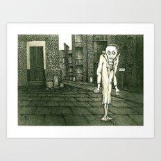 Le Strange / The Outside… Art Print