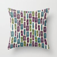 Lipstick Love Throw Pillow