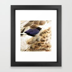 Up Close Framed Art Print
