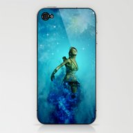 Fighter In The Universe iPhone & iPod Skin