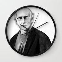 DARK COMEDIANS: Larry Da… Wall Clock