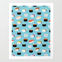 Sushi! Art Print