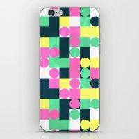 Circle Square iPhone & iPod Skin