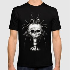 Curiosities - The Fontanelle. Mens Fitted Tee Black SMALL