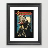Symphony Of The Night Framed Art Print
