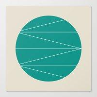 #33 Jupiter – Geometry… Canvas Print