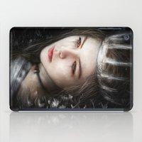 Flowers In The Dark iPad Case