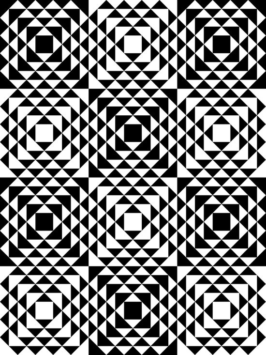 Geometric Tribal Art Print