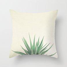 Haworthia Throw Pillow