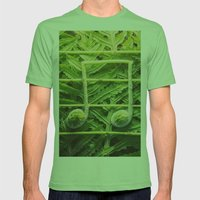 Music of the Fiddleheads Mens Fitted Tee Grass SMALL
