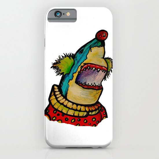 Clown Shark iPhone & iPod Case