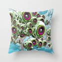 Apples for Ears Throw Pillow