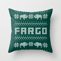 Fargo Sweater Throw Pillow