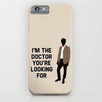 iPhone & iPod Case featuring I'm the Doctor you're looking for by sally  diamonds