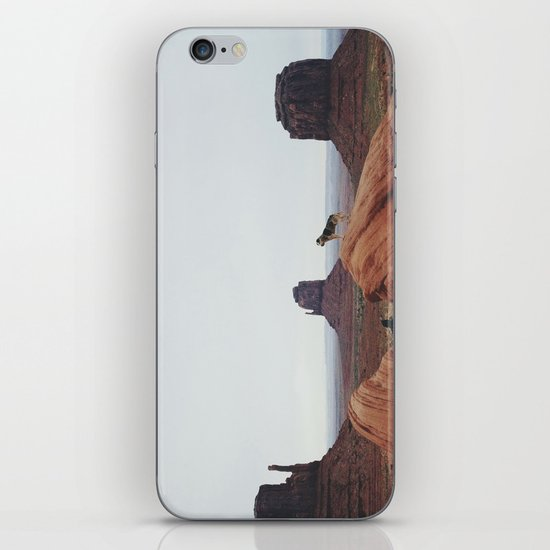 Monument Dog iPhone & iPod Skin