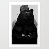 Wood Tang Clan Art Print