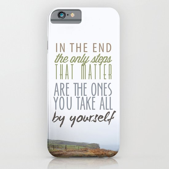 Can't Go Back Now iPhone & iPod Case