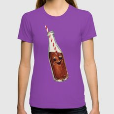 Soda Pop Womens Fitted Tee Ultraviolet SMALL