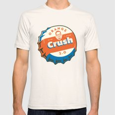 Denver's Orange Crush Defense TWO POINT OH! SMALL Natural Mens Fitted Tee