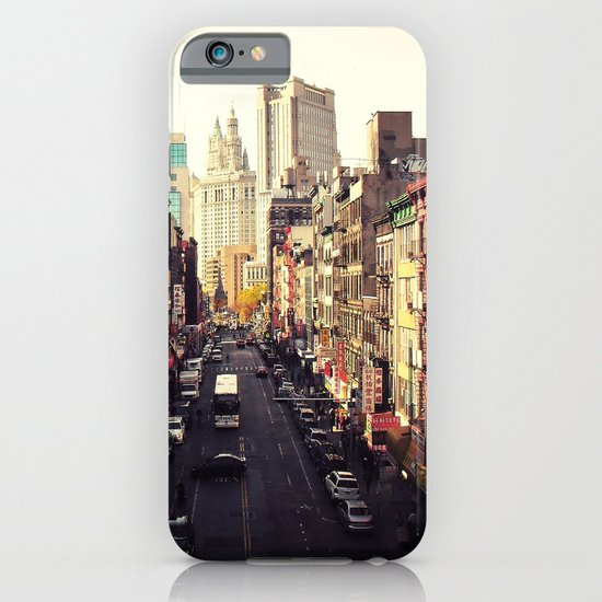 Heart of it All - Above Chinatown - New York City iPhone & iPod Case