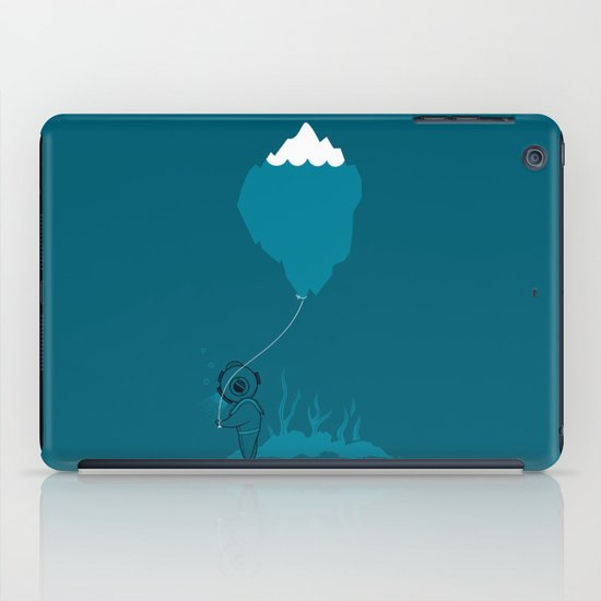 The Diver and his Balloon iPad Case