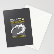 Cylon Raider Service and Repair Manual Stationery Cards