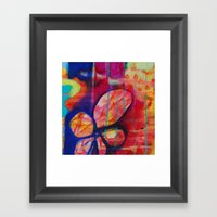 BLUSTER Framed Art Print