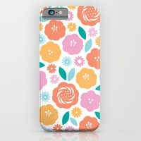 iPhone & iPod Case featuring Cheerful Florals by Kimberly Carpenter