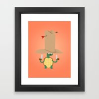 Turtle2 Framed Art Print