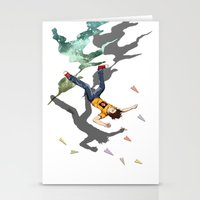 Fall Crash Infect Stationery Cards