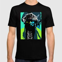 Indian Pop 50 Mens Fitted Tee Black SMALL