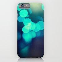Blue Bokeh 2 iPhone 6 Slim Case