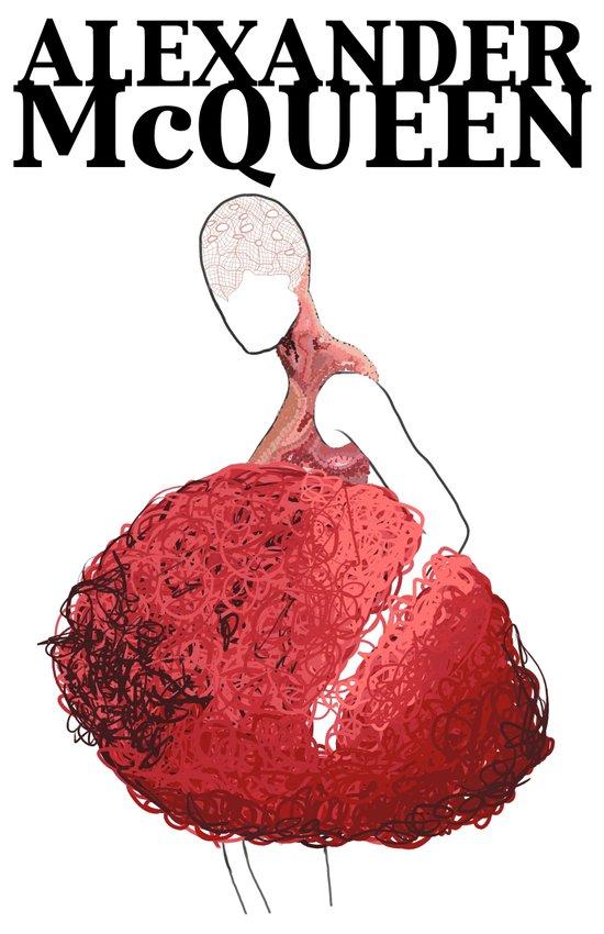 Alexander McQueen 2 Art Print