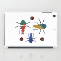 playful insects iPad Case