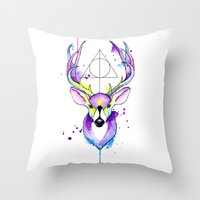 Harry Potter Patronus Throw Pillow