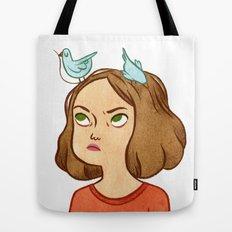 Pájaros en la cabeza  Tote Bag