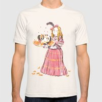 Salome Mens Fitted Tee Natural SMALL