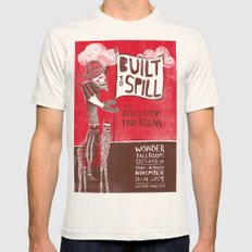 Built To Spill - Wonder … Mens Fitted Tee Natural SMALL