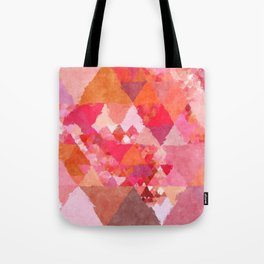 Tote Bag - Into the heat - Triangles - Better HOME