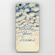 Clouds Effect iPhone & iPod Skin