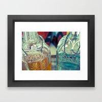 drink on Framed Art Print