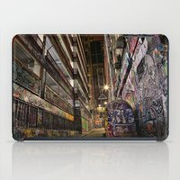 Graffiti Lane iPad Case