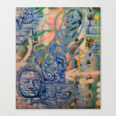 Stone vision Canvas Print