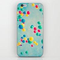 Polka Dots (Colorful Hap… iPhone & iPod Skin