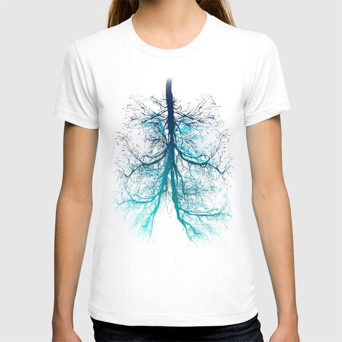 Aqua lungs t shirt by musenyo society6 for Aqua blue color t shirt