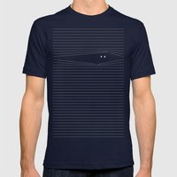 Everybody knows Mens Fitted Tee Navy SMALL