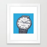 Mido Time! Framed Art Print