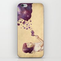 Cosmic Bubbles iPhone & iPod Skin